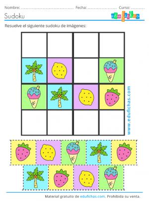 sudoku pasatiempo de verano