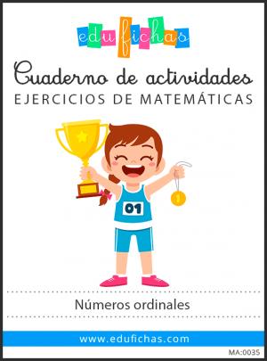 números ordinales pdf