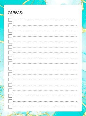 cuaderno del profesor checklist