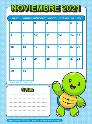 descargar calendario escolar gratis
