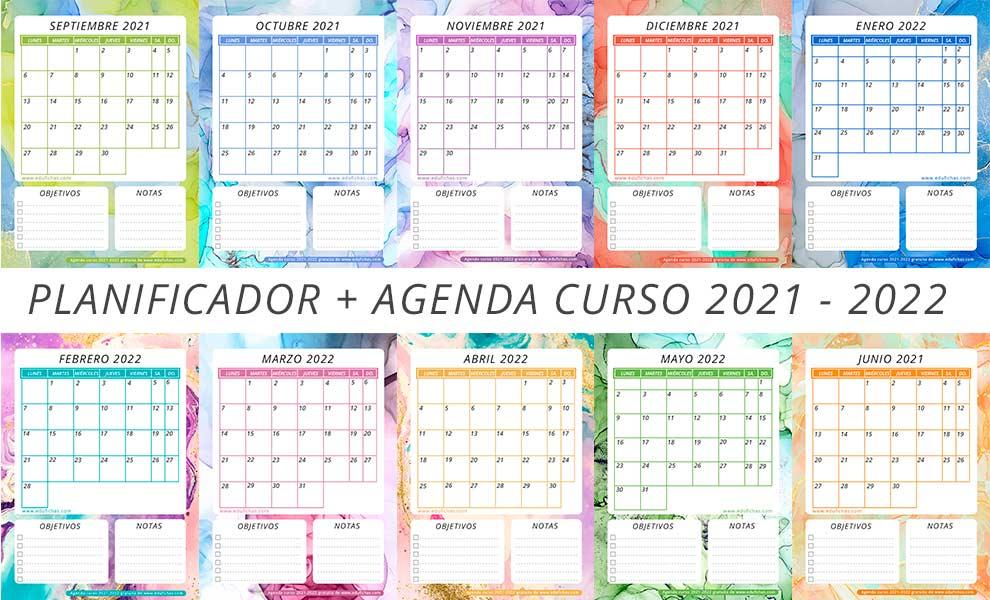 planificador curso 2021 22