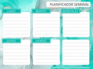 planning semanal horizontal