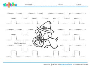 actividades de halloween para imprimir