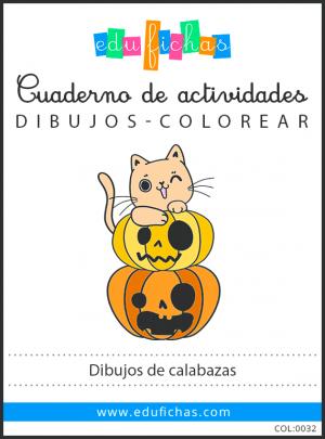 calabaza halloween dibujo pdf