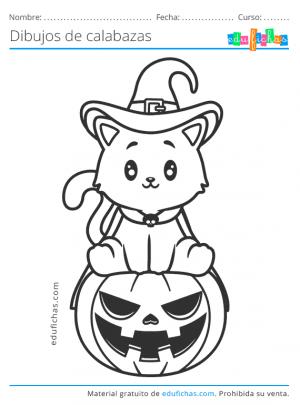 calabaza de halloween para niños