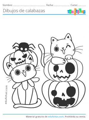 calabazas de halloween bonitas