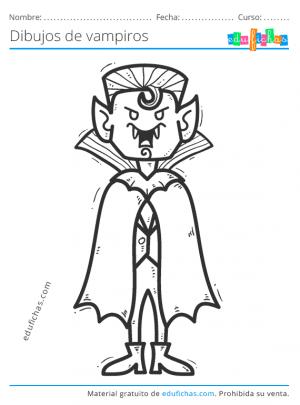 colorear vampiros