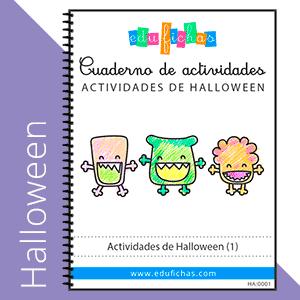 cuaderno de halloween 1