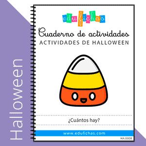 aprender a contar halloween