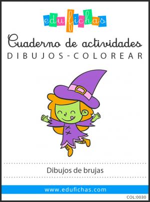 dibujos de brujas pdf