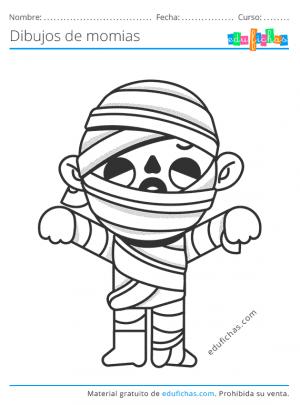dibujos de momias