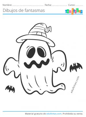 fantasmas dibujos