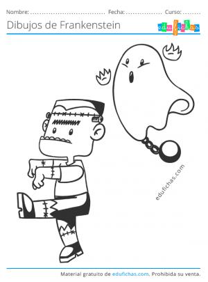 frankenstein con fantasma