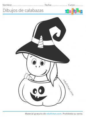 halloween calabazas infantil