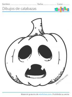 imprimir calabazas de halloween