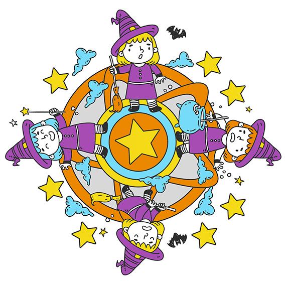 mandalas de halloween