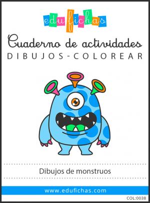monstruos dibujos pdf