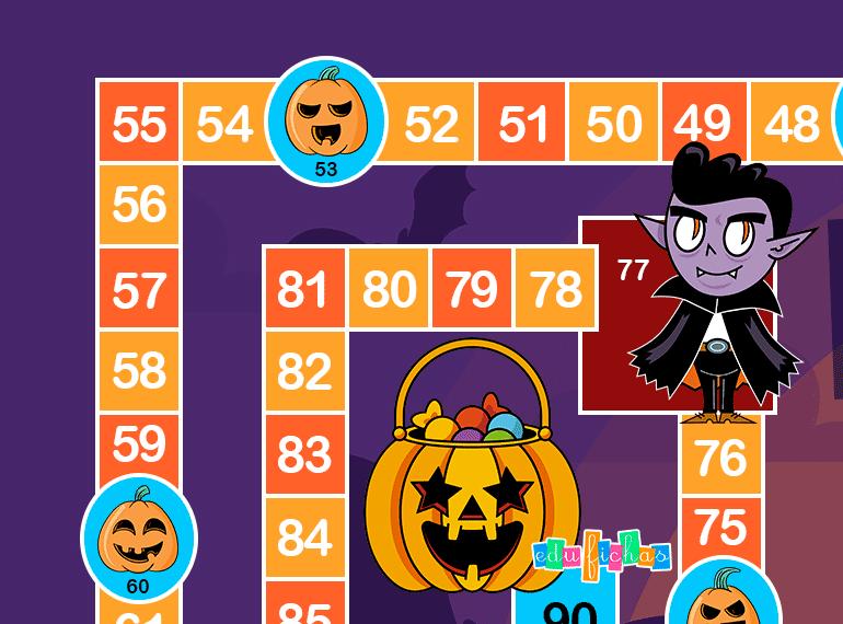 tablero de la oca de halloween parte 1